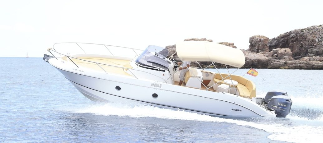 Charter Ibiza Boat SESSA KEY LARGO 30